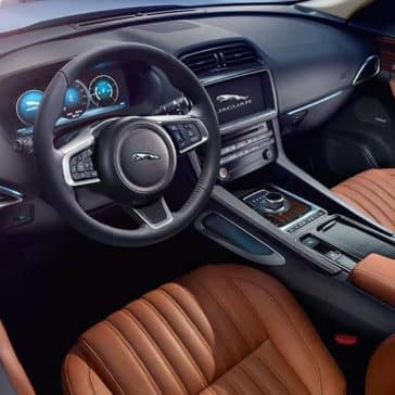 2019 Jaguar F-Pace steering wheel