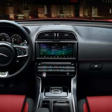 2019 Jaguar XE interior dashboard