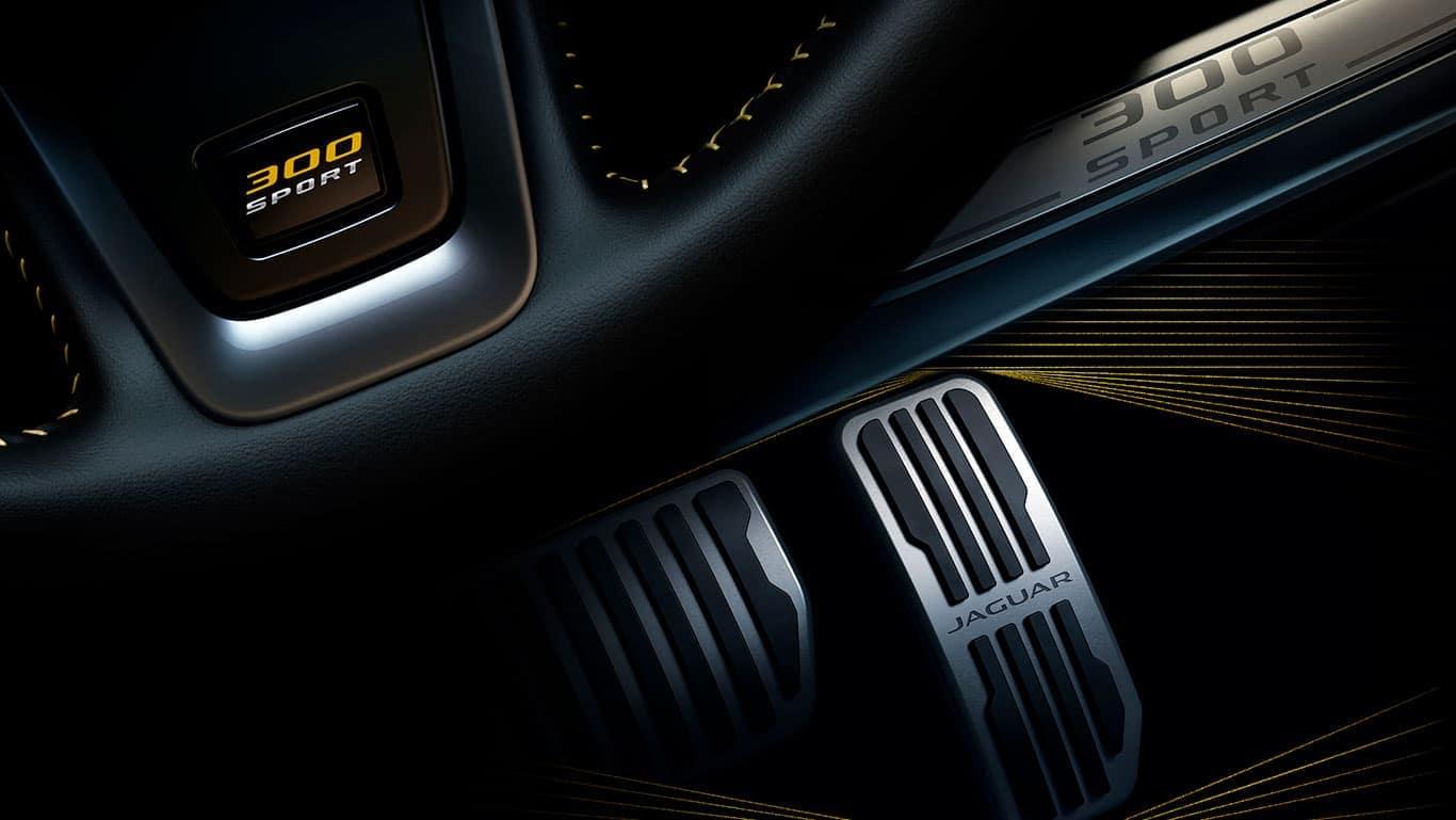 2019 Jaguar XE pedals