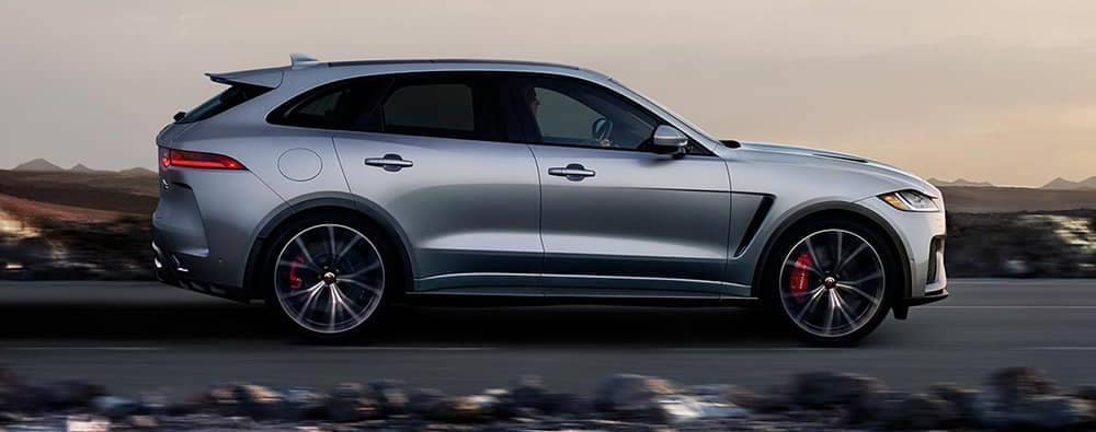 2019 Jaguar F-PACE in gray