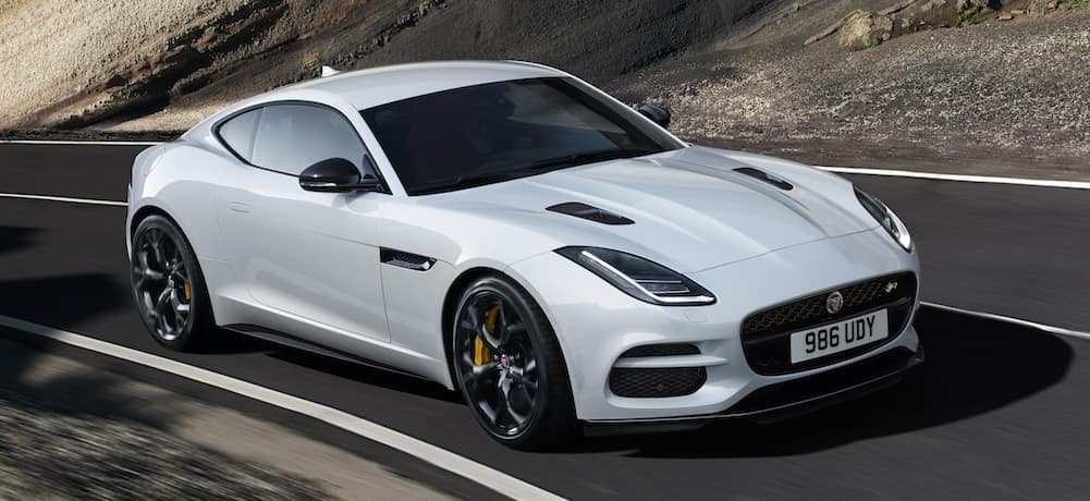 2019 Jaguar F-TYPE Exterior White