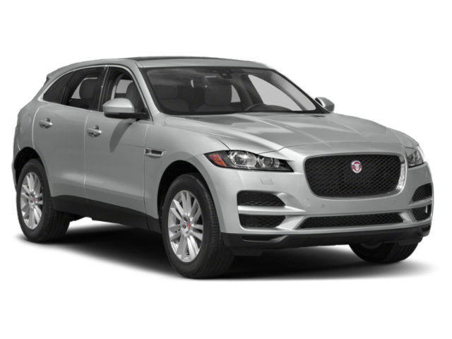 2019 Jaguar F-Pace facing right