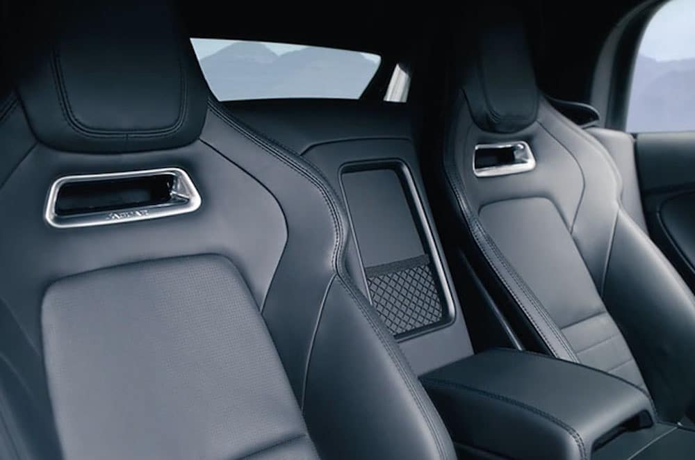 2019 Jaguar F-Type Interior Back Seats
