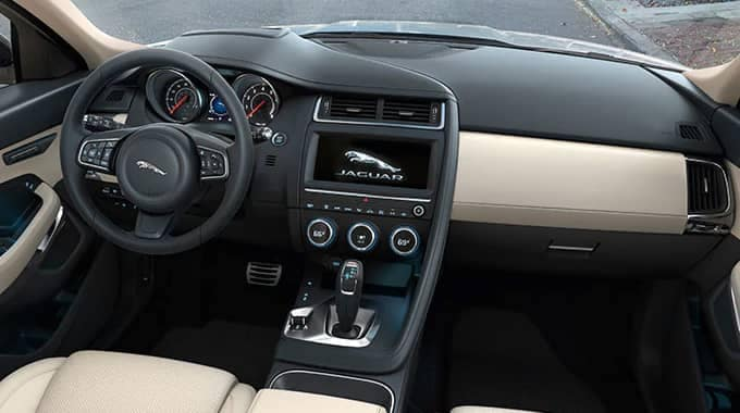 2019 Jaguar E-PACE Interior Dasboard