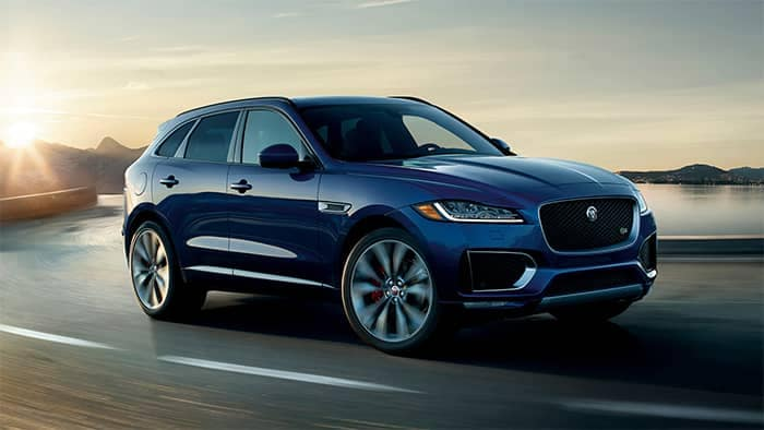 2019 Jaguar F-PACE Driving
