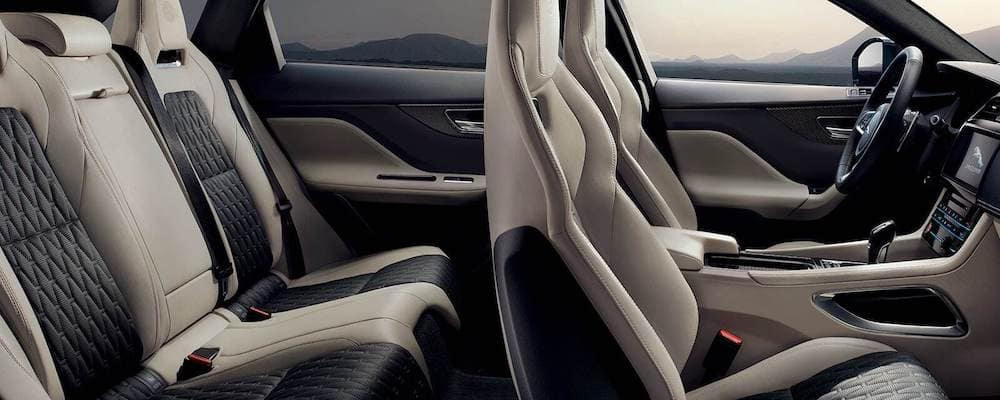 2019 Jaguar F Pace Seating Capacity F Pace Seating Features