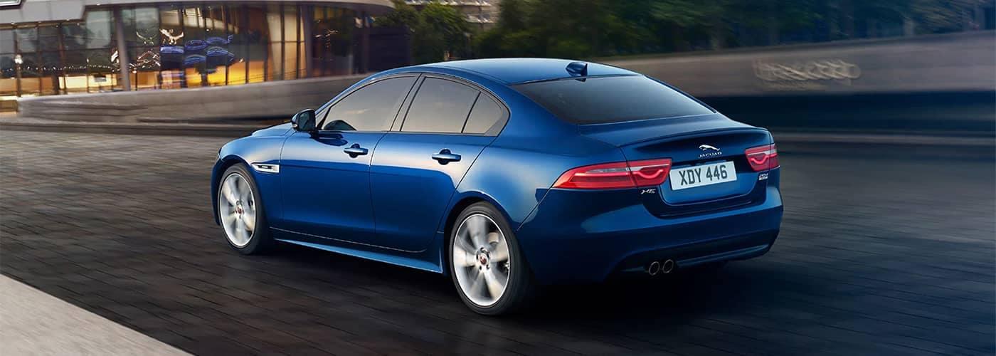 Jaguar XE Driving