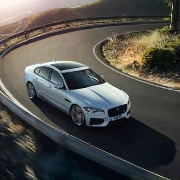 2020 Jaguar XF Taking Curve
