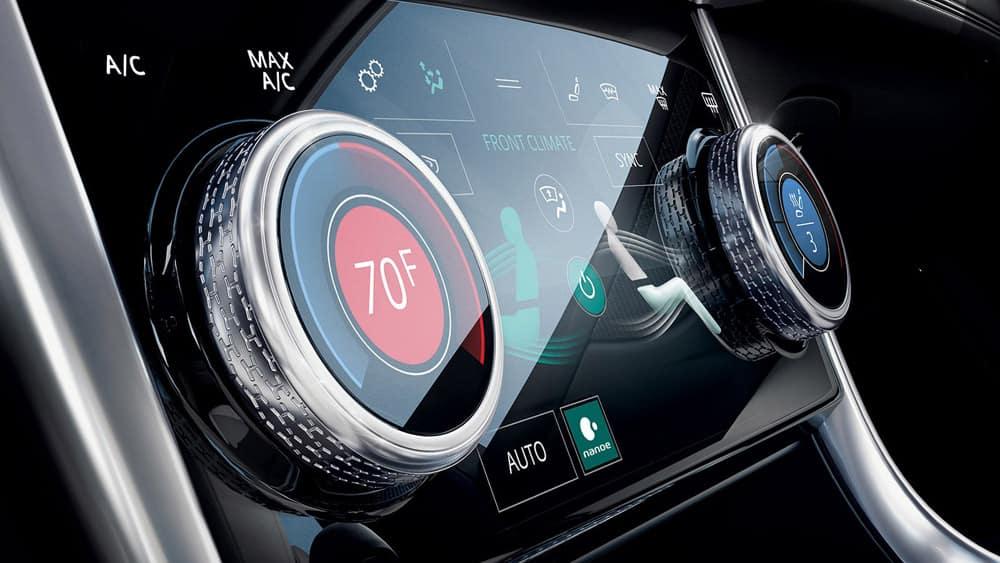 2020 Jaguar XE Climate Control