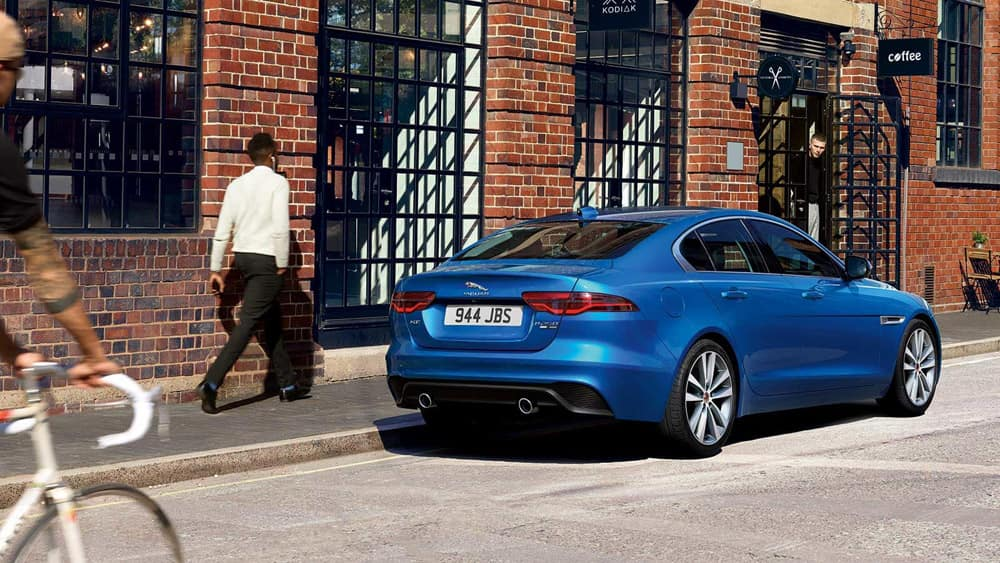 2020 Jaguar XE Parked