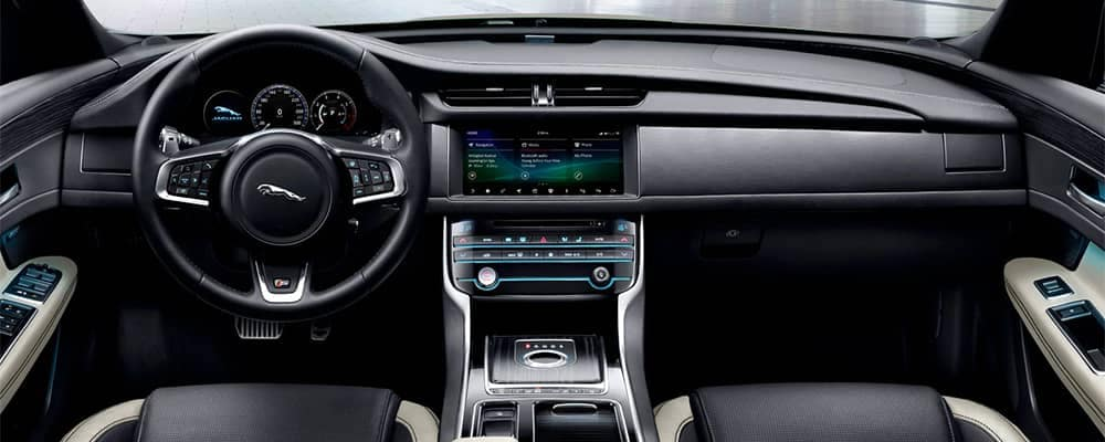 2020 Jaguar XF Interior Front Dashboard