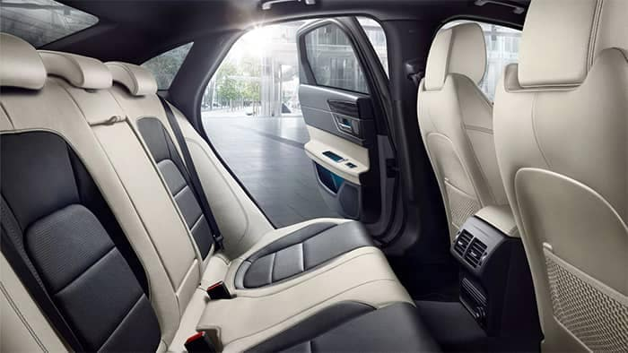 2020 Jaguar XF Rear Seats