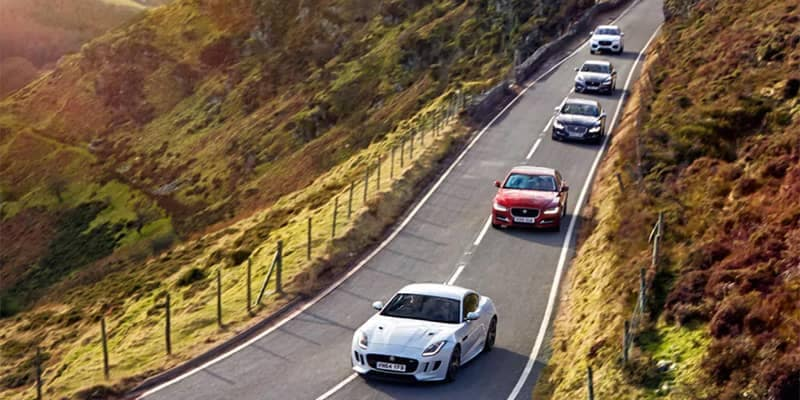 Jaguar Models Driving