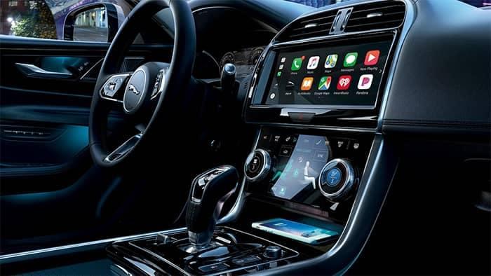 Jaguar XE Interior Dashboard Features