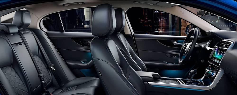 Jaguar XE Interior Seating Side View