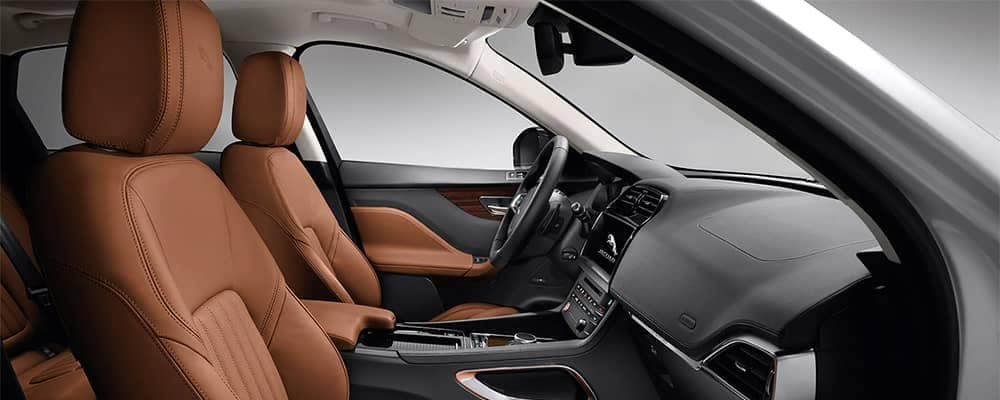 Jaguar F-PACE Interior Front Seating