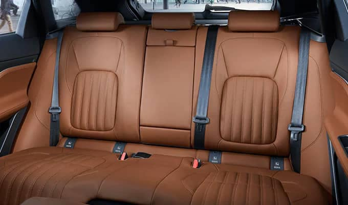 Jaguar F-PACE Rear Seating