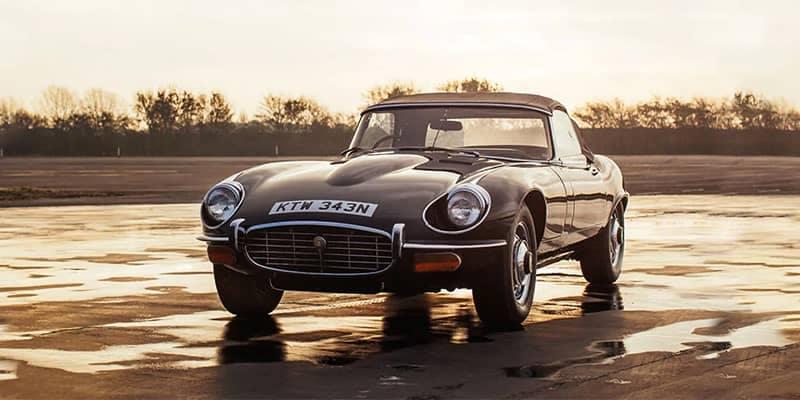 Old Jaguar Model