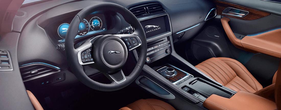 2020 Jaguar Interior technology