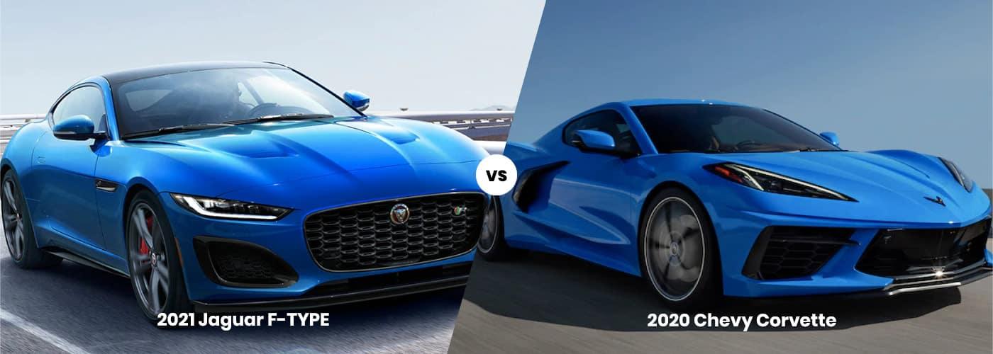 Jaguar F-TYPE vs. Chevy Corvette banner