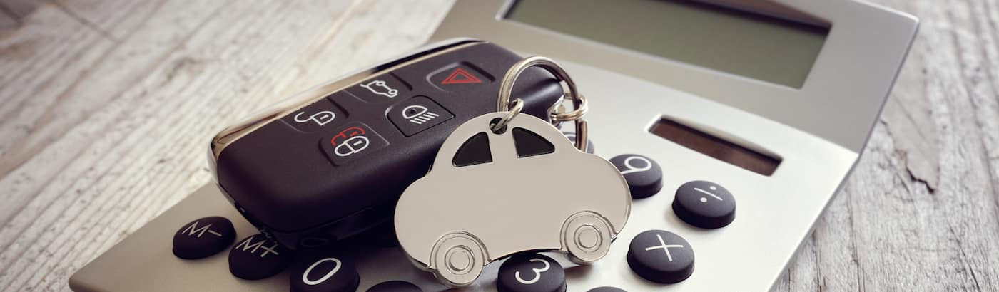 Keys on calculator