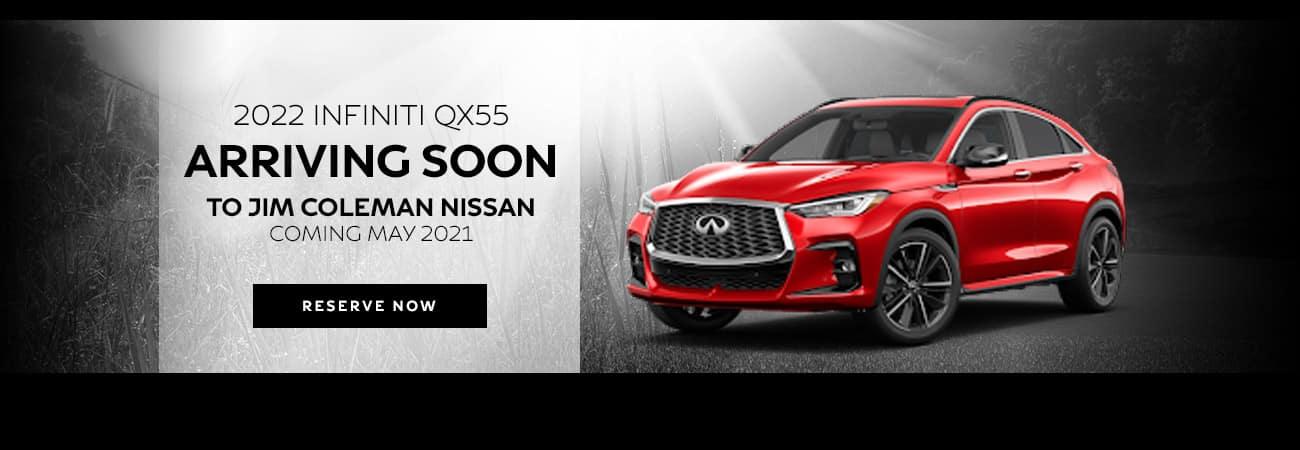 INFINITI QX55 Coming Soon
