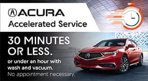Acura Accelerated Service