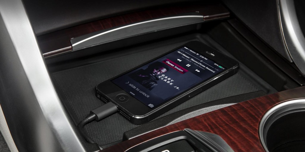 2015 Acura TLX Features IPod And Audio Jacks To Support Devices