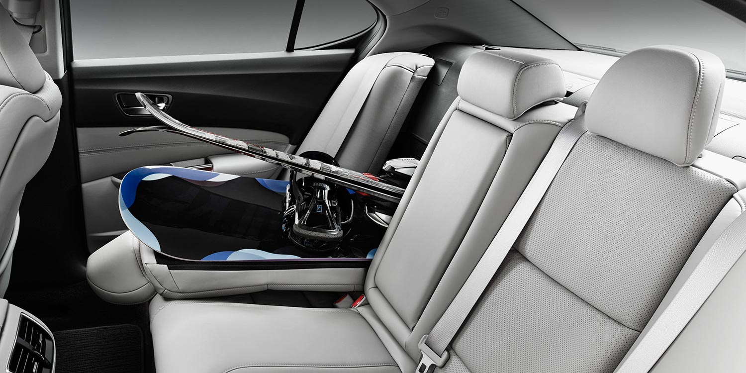 Acura TLX dimensions give you plenty of storage space