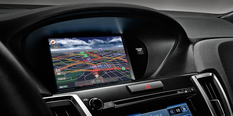 2015 Acura TLX navigation
