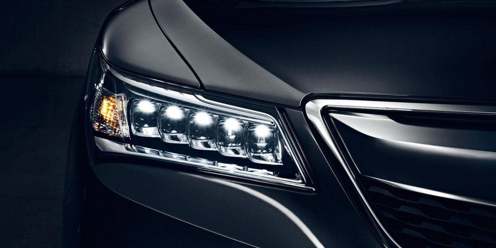 Image of the MDX's Jewel Eye® LED headlights