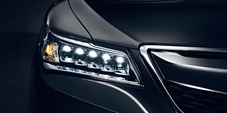 Image of the MDX's Jewel Eye® LED headlights