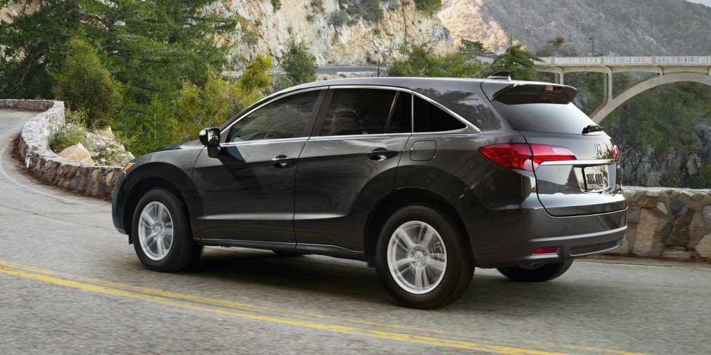 RDX low center of gravity offers stability
