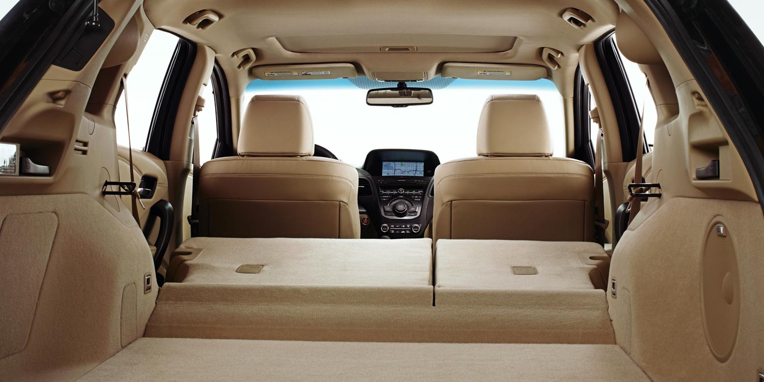 2015 RDX interior cargo space