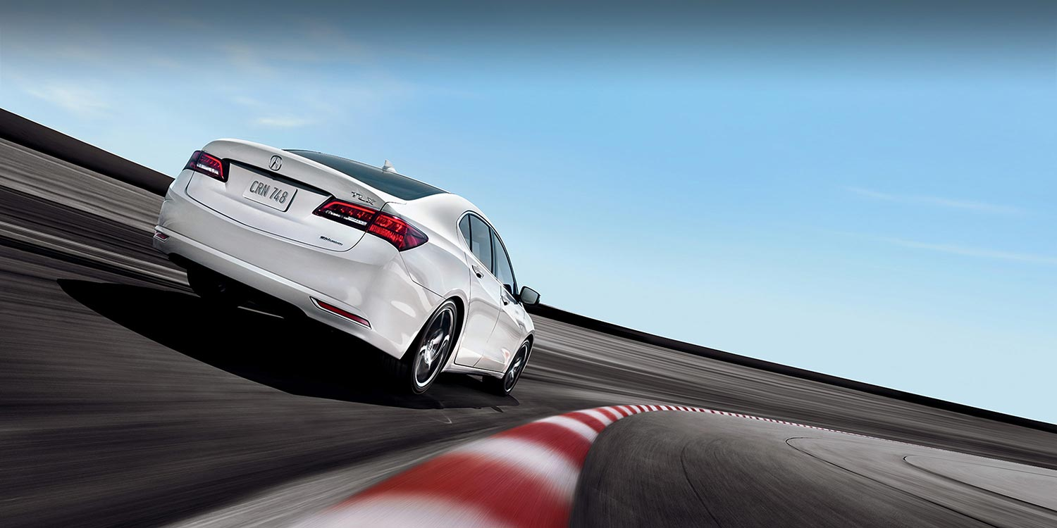 Racing TLX with 8-speed double clutch transmission