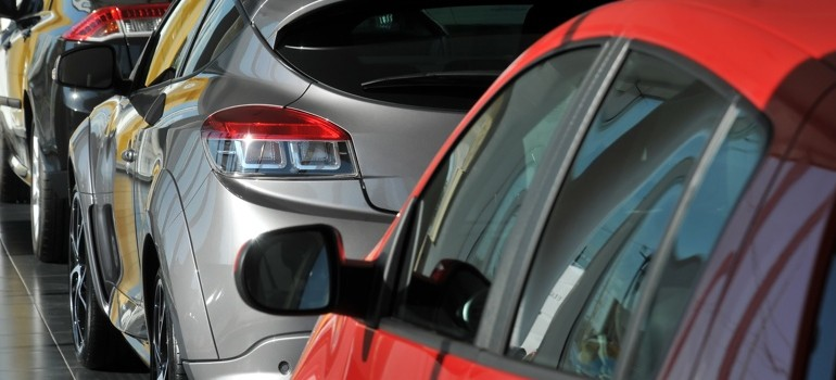 Cars in Dealership