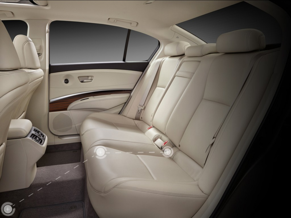 Explore The 2015 Acura Rlx Interior Dimensions And Seating Joe Rizza Acura In Orland Park