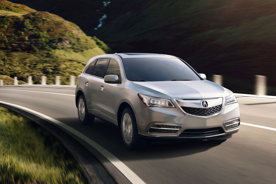 2016 Acura MDX front exterior