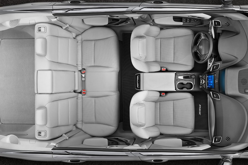 2016 RDX Interior Dimensions
