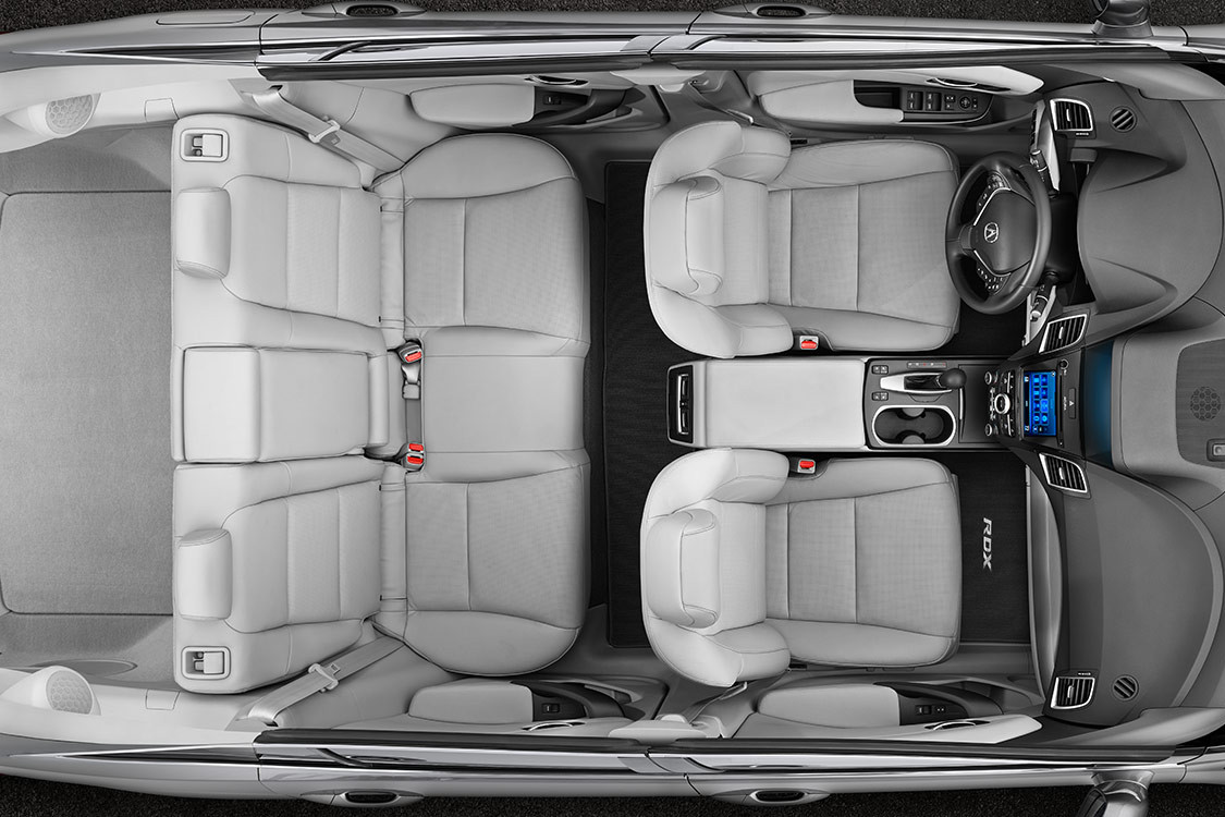 2016 RDX Interior Dimensions