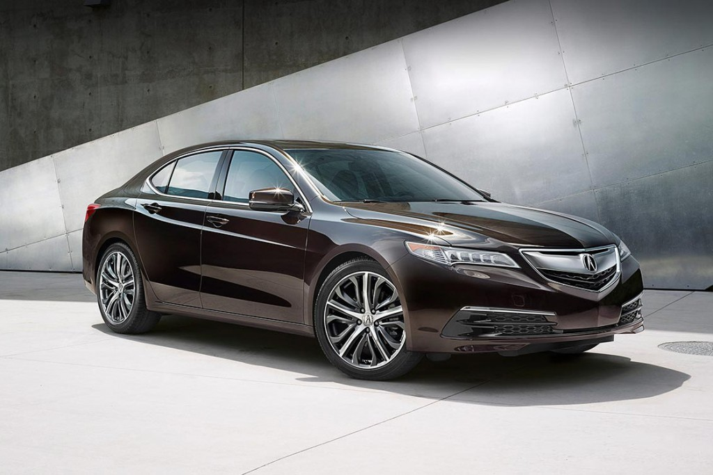 2016 Acura TLX features