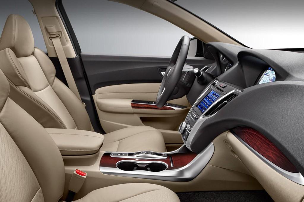 2016 Acura TLX interior