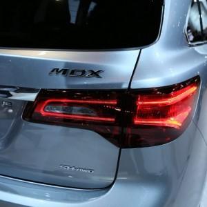 2016 Acura MDX Rear Closeup
