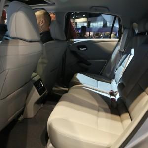 2016 Acura RDX Rear Seats