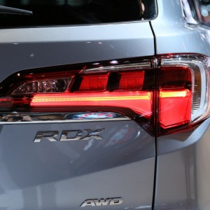 2016 Acura RDX closeup rear