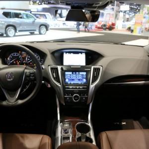 2016 Acura TLX Chicago Auto Show