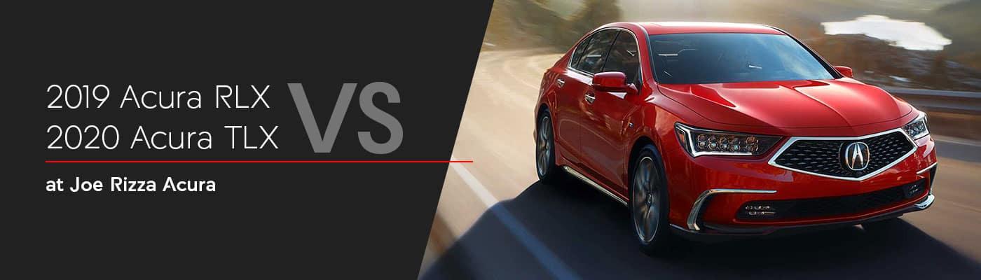 Acura TLX vs RLX Comparison