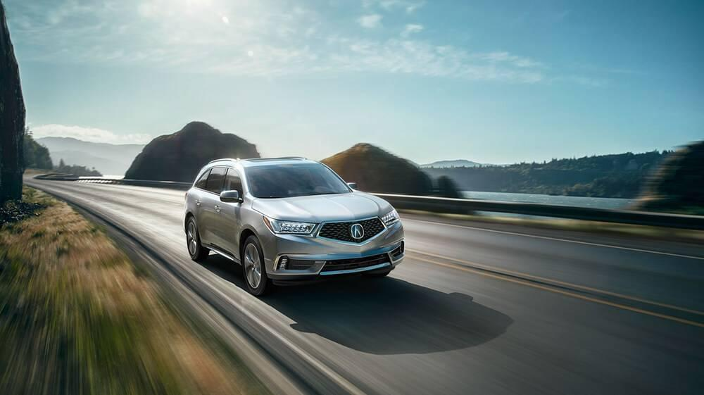 2017 Acura MDX Hybrid Driving
