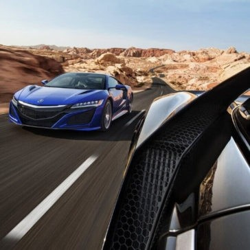 2017 Acura NSX Driving