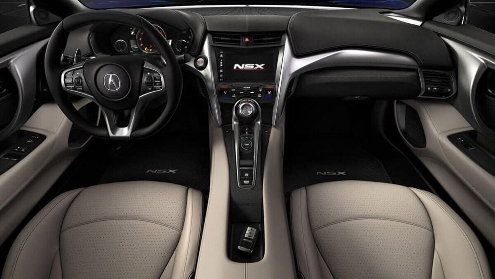 2017 Acura NSX Dash